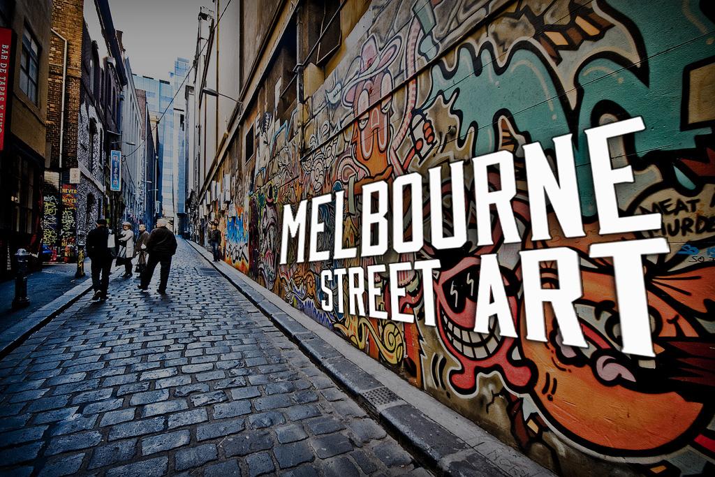 Melbourne Street Art Australia Backpackers Guide
