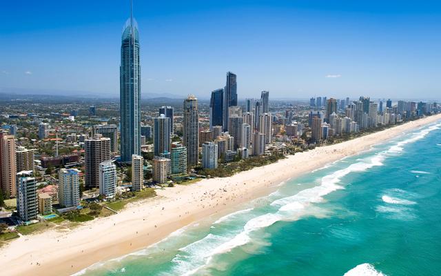 East Coast Australia Surfers Paradise