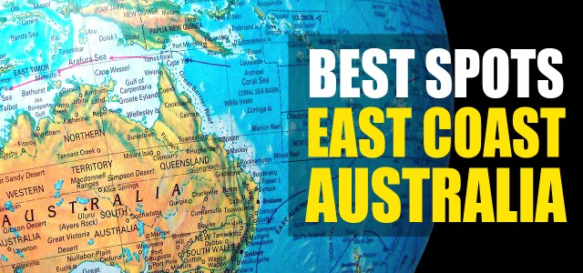 Top #16 Best Spots to see on the East Coast Australia