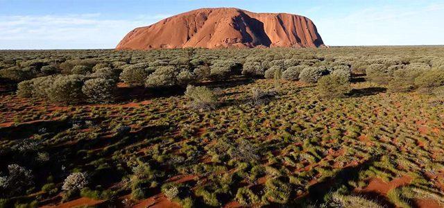 First Uluru Video Taken by a Drone