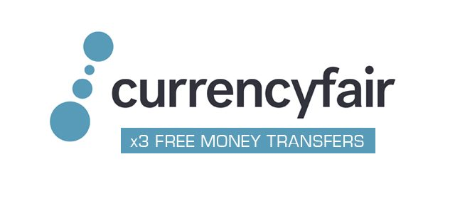CurrencyFair: 3 free money transfers