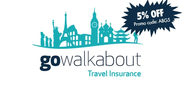 Go Walkabout travel insurance discount