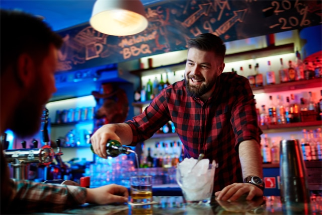 picture Barman go walkabout