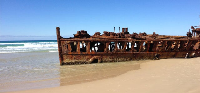 Fraser Island maheno wreck 640x300