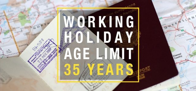 Working Holiday Visa age limit up to 35 years