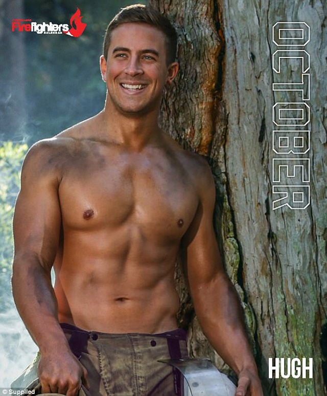 2018 australian firefighters calendar  features hot men