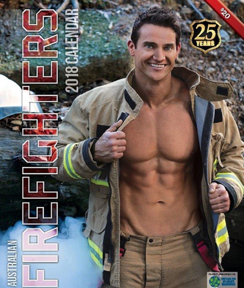 2018 australian firefighters calendar  features hot men