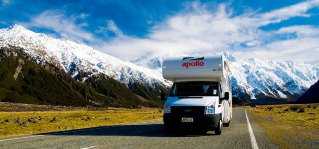 Motorhome & Campervan hire in New Zeland