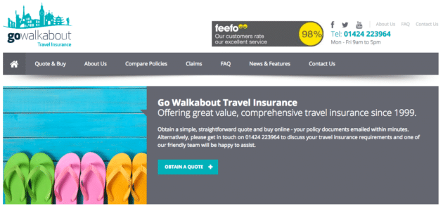 Go Walkabout Travel Insurance