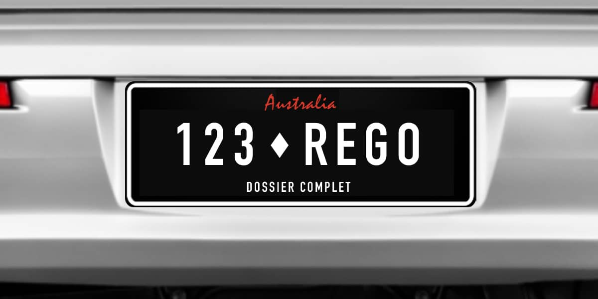 Australian Vehicle Registration - Rego Guide state by state