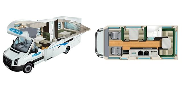 motorhomes 6-seater