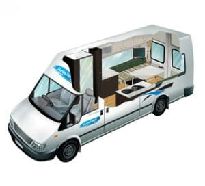 motorhome models 2-seater