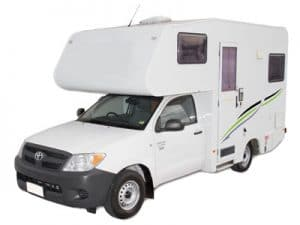 motorhome models pickup