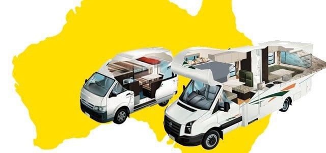 Campervan Rental in Australia