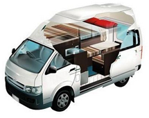 campervan rentals in australia hightop