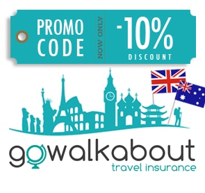 Go Walkabout discount promo code banner