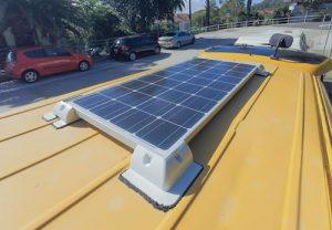 van solar panel