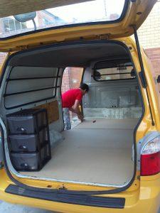van fitouts floor