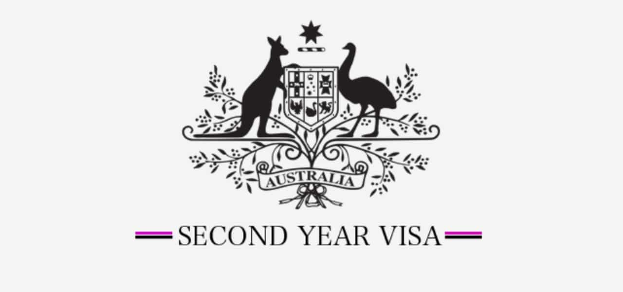 Second year visa in Australia - How to renew your Working
