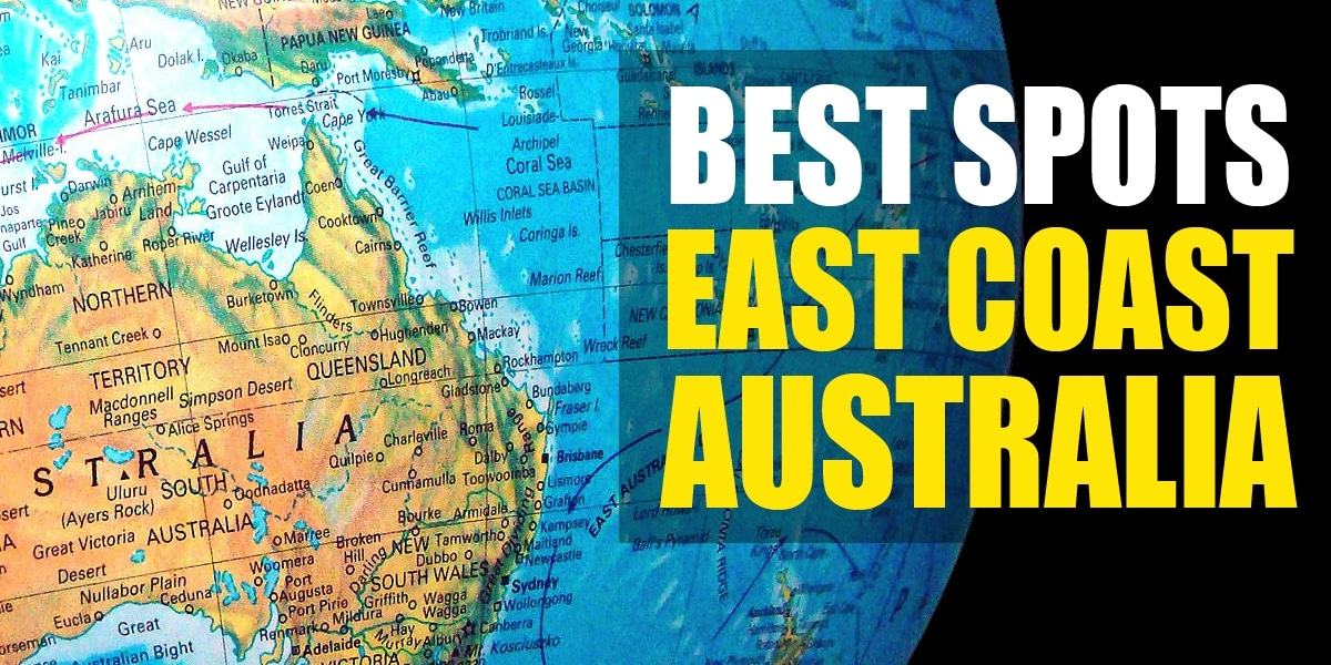 Map Of Australia With Landmarks.Top 16 Best Spots To See On The East Coast Australia