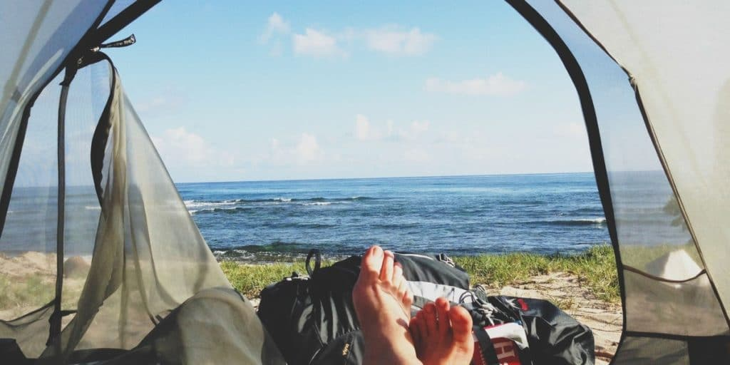 Wandern Australien camping