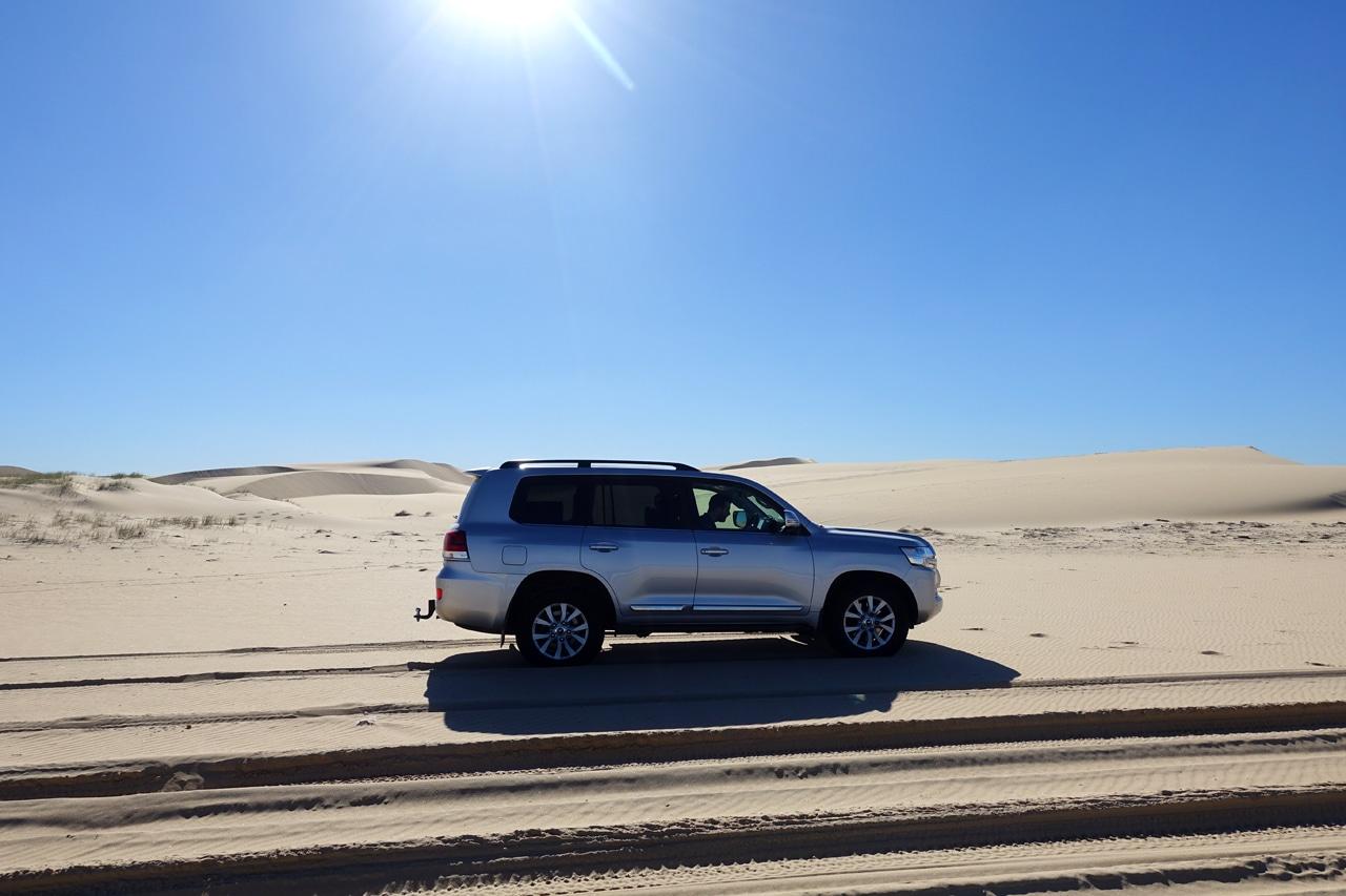 Stockton dunes central coast