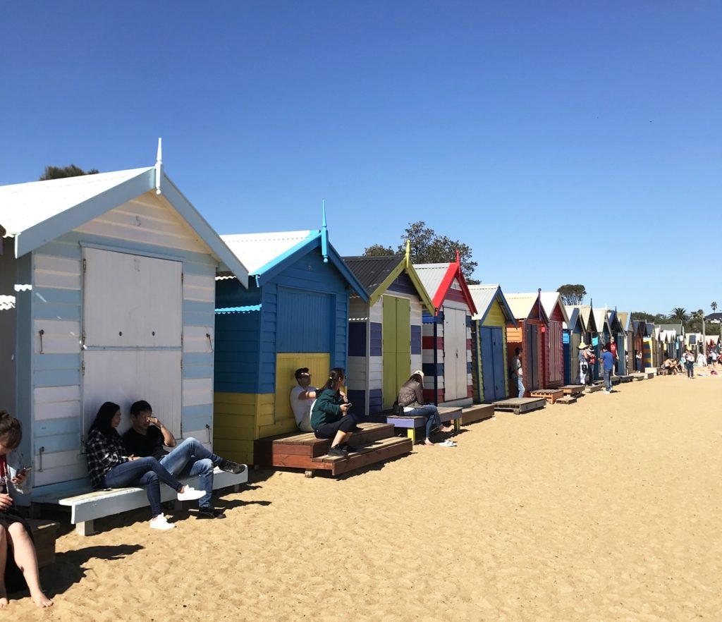 brighton beach visit melbourne