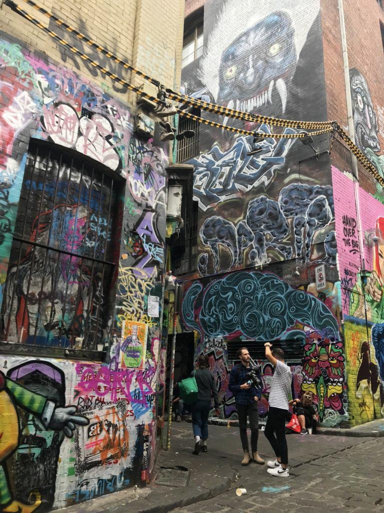 visit melbourne street art