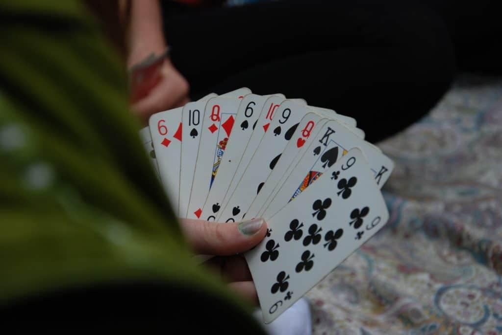 Kartenspiel hostel