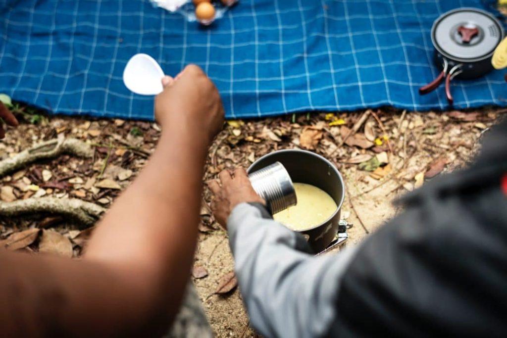 camping hacks cook