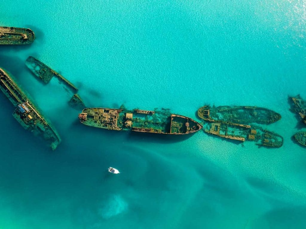 diving Australia Tangalooma