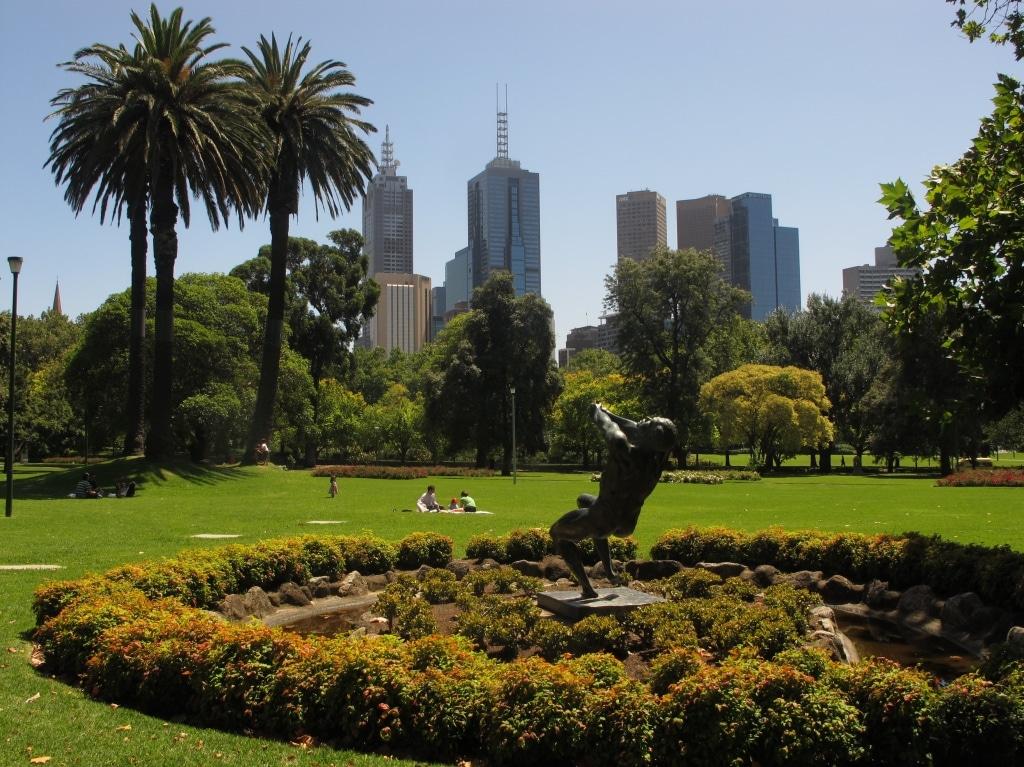 The Royal Botanic Garden Melbourne